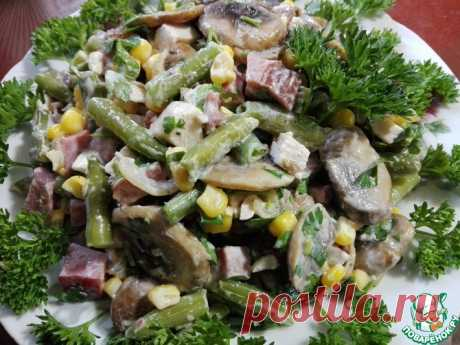 Арабский салат Кулинарный рецепт