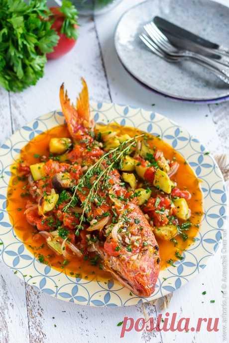 Рыба, запечённая с овощами - Кулинарные заметки Алексея Онегина
