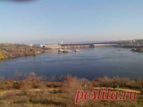 Остров Хортица - символ казвацкой славы.