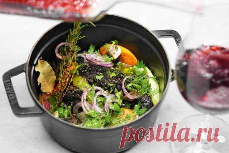 Говяжьи щеки, тушенные в красном вине рецепт – французская кухня: основные блюда. «Еда»