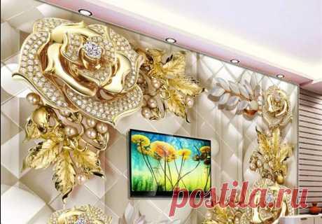 Золото в интерьере: вычурность или хороший вкус? Заметки дизайнера - Дизайн квартир с фото Vdizayne.ru