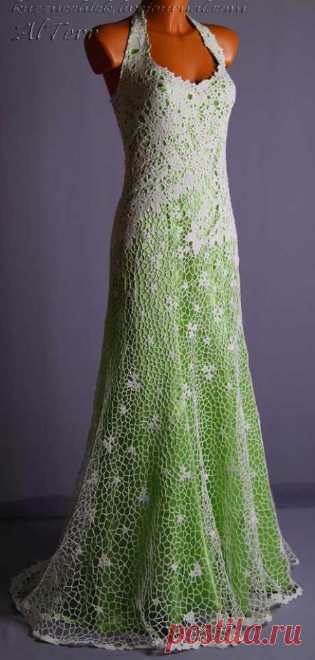 Платье свадебное из ирландского кружева