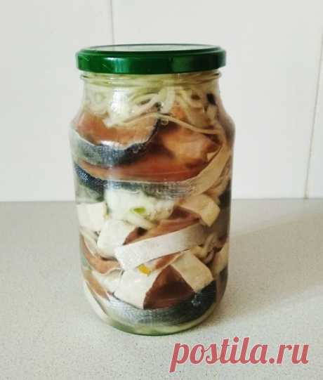 Рецепт маринованной горбуши