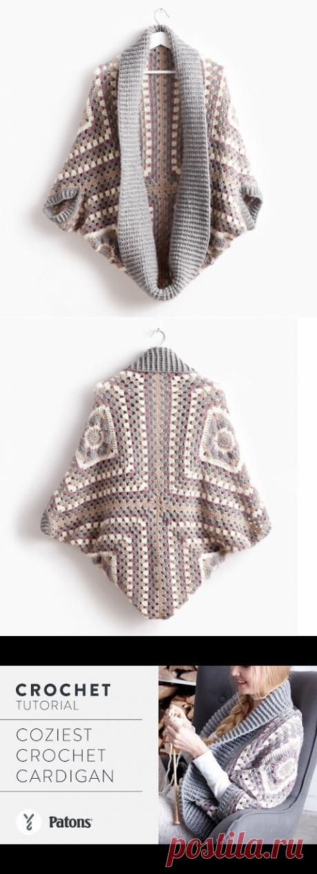 Patons уютный вязаный кардиган, XS/S | M / Yarnspirations