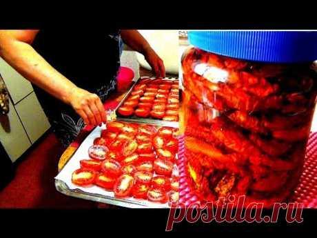 Сушеные (вяленые) помидоры.  Рецепты средиземноморской кухни.