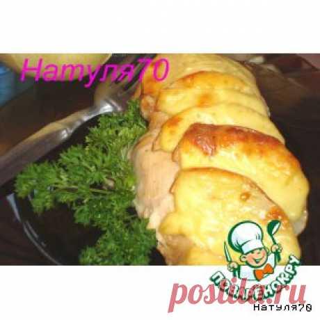 Филе индейки, запеченное с грушей - кулинарный рецепт