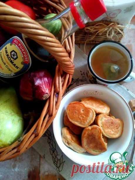 Кабачки в кляре с соевым соусом - кулинарный рецепт