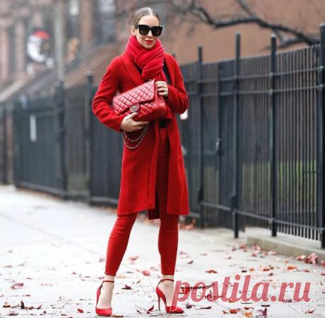 Красный цвет в одежде: стилистические нюансы | Style-avenue
