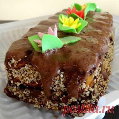 Новорічний торт зі згущеним молоком / Торти / Кукорама — смачні рецепти!