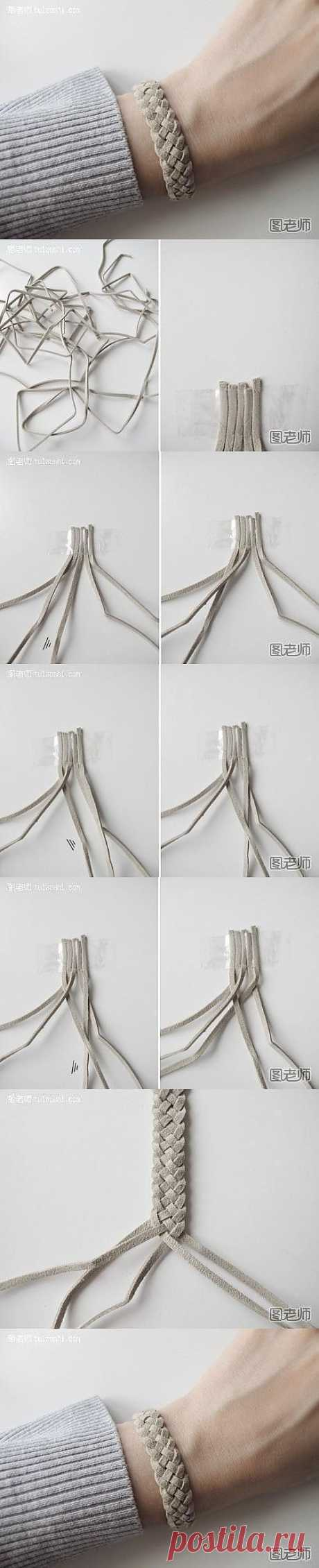 How to make the unique bracelet \/ \/ | by homeLOVEly DIY