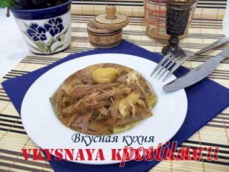 Как приготовить холодец из курицы и свиных ножек, пошаговый рецепт с фото