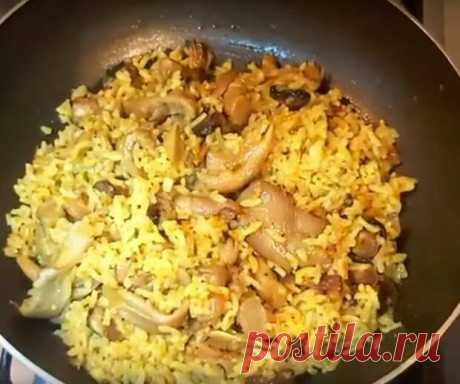 Рис с вешенками на сковороде: готовим обед или ужин - Вкусные рецепты - медиаплатформа МирТесен Это отличное блюдо к обеду или ужину. Готовится на одной сковороде, быстро и просто. Понравится всем любителям грибочков, получается сытным и вкусным. Необходимые продукты 500 грамм вешенки 1 морковь 1 луковица 1 стакан риса 2,5 стакана воды 1 лавровый лист 3 столовые ложки растительного масла пол...