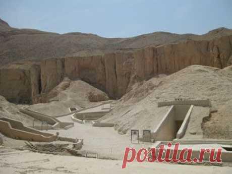В египетской Долине Царей нашли гробницу  фараонов | Новости, события, факты