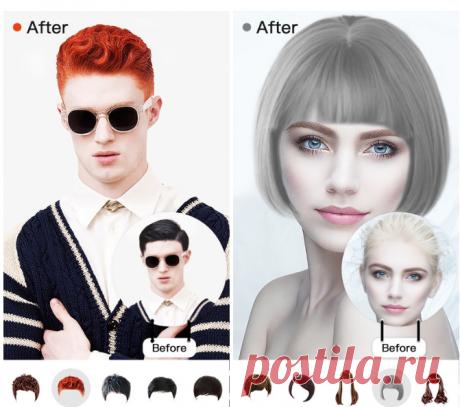 Онлайн подобрать цвет волос по фото: ТОП 8 интересных приложений