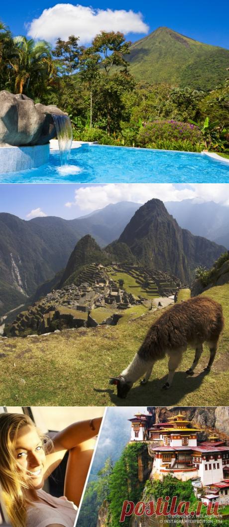 Девушка, посетившая все страны наЗемле, назвала 10своих любимых мест