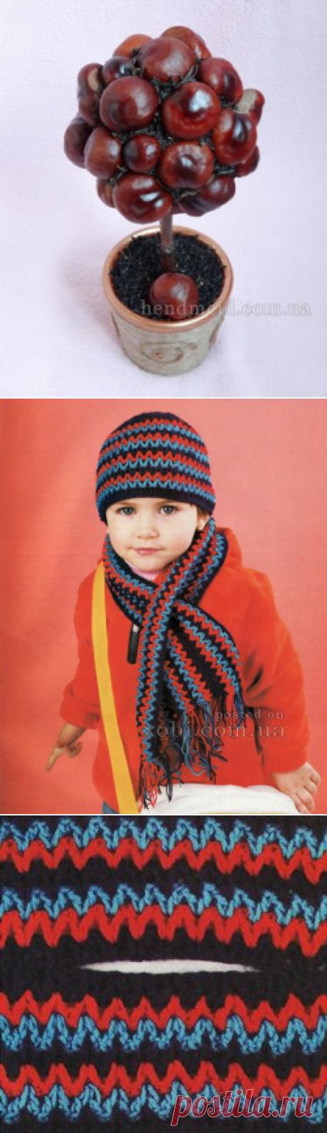 шапка и шарфик для мальчика вязаные крючком