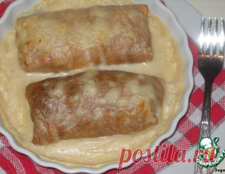 Блины, запеченные по-пикардийски – кулинарный рецепт