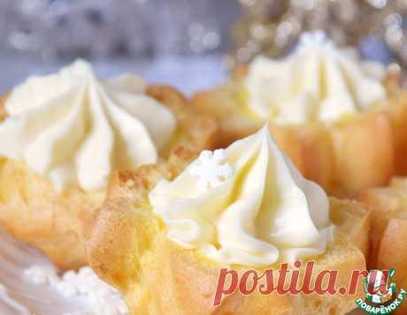 """Пирожные """"Снежные вершины"""" – кулинарный рецепт"""
