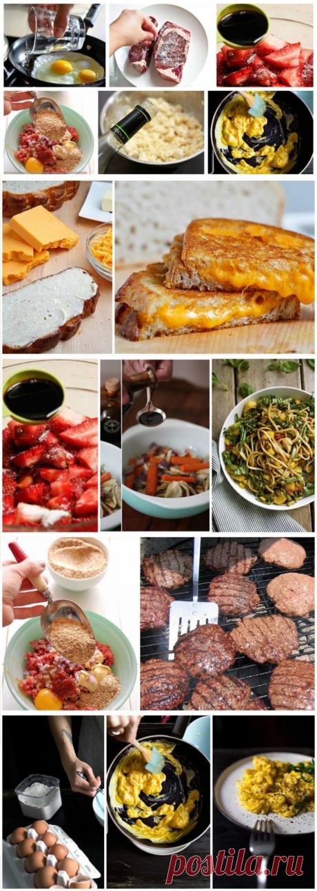 20 кулинарных секретов, сделающие ваши блюда вкуснее