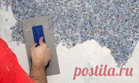 Как наносить жидкие обои на стены – преимущества отделочного материала  В зависимости от наполнителя стены с покрытием из жидких обоев могут иметь самую разнообразную фактуру, а широкая цветовая палитра достигается, благодаря добавлению специальных красителей. Жидкие обои с текстильными добавками будут смотреться на стене, как драпировка или как настоящие тканевые обои. Для украшения в них также могут быть добавлены золотистые или серебряные нити, минеральные блестки и дру...