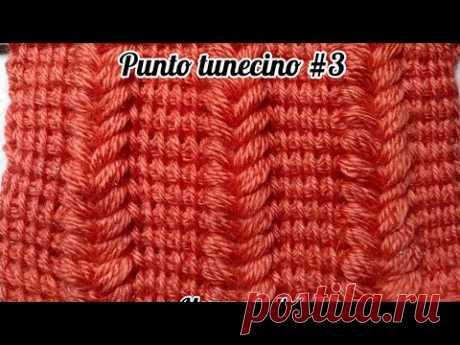 COMO TEJER PUNTO TUNECINO #3 EN VIVO