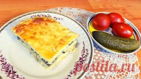 Вкусная картофельная запеканка с грибами Продукты для приготовления запеканки: 1,8 кг картофеля4 куриных яйцаНемного сливочного масла400 гр. свежих грибов (у меня шампиньоны)1 луковица1 плавленый сырок (70 гр.)Зелень укропаСоль по вкусуРастительное масло1 куриное яйцо для смазывания запеканкиПростой видео рецепт приготовления: