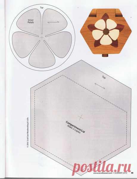 Woodtools - Журналы - ScrollSaw Woodworking & Crafts Sum 2010