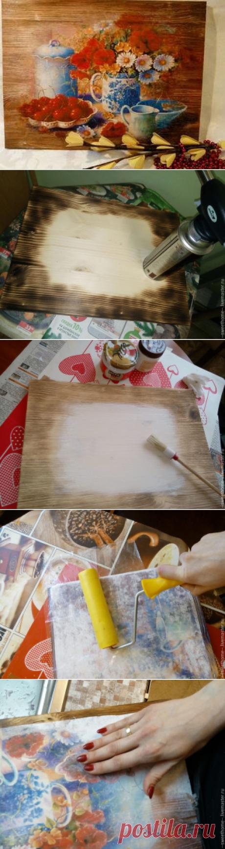 Как вживить лазерную распечатку на брашированную поверхность - Ярмарка Мастеров - ручная работа, handmade