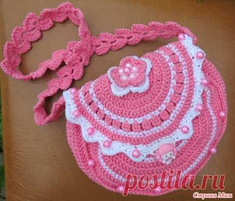 . El regalo para la chiquitina - Todo en azhure... (La labor de punto por el gancho) - el País de las Mamás