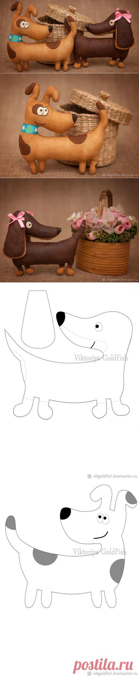 Шьем кофейных собачек — символ 2018 года - Ярмарка Мастеров - ручная работа, handmade