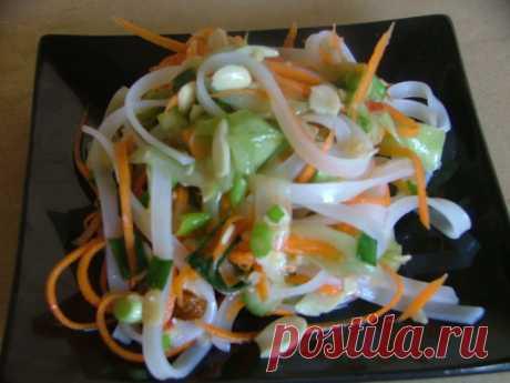 Вьетнамский салат – пошаговый рецепт с фотографиями