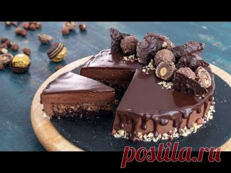 Ferrero Rocher Mousse Cake (Nutella Mousse Cake)