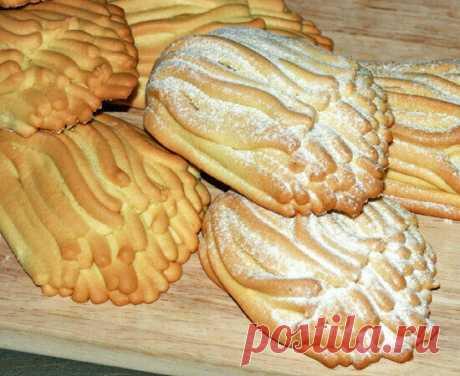 Печенье из детства «Хризантемы» (готовится с помощью мясорубки) | Вкусняшки | Яндекс Дзен