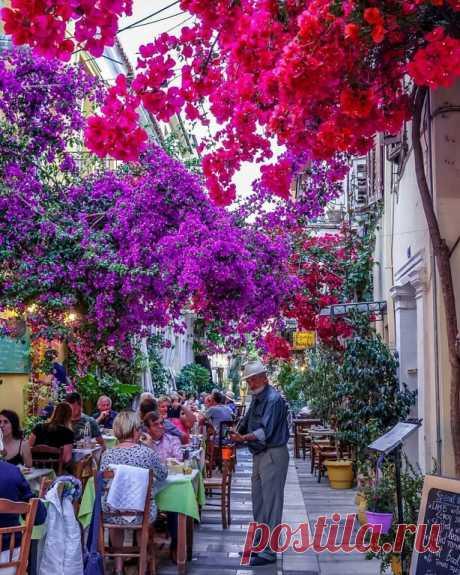 ༺🌸༻ Нафпалион - маленький туристический центр в Греции с особым колоритом и атмосферой, который придтся по душе ценителям камерных и уютных мест