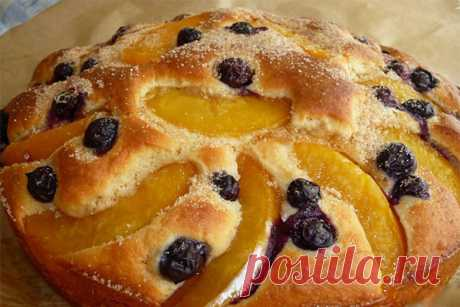 Персиковый пирог — Хозяюшка