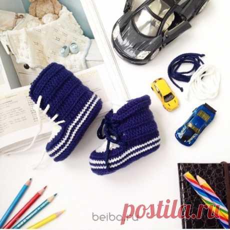 Моксы и теплые ботиночки из мериноса | Beiba.ru - идеи для вязания | Яндекс Дзен