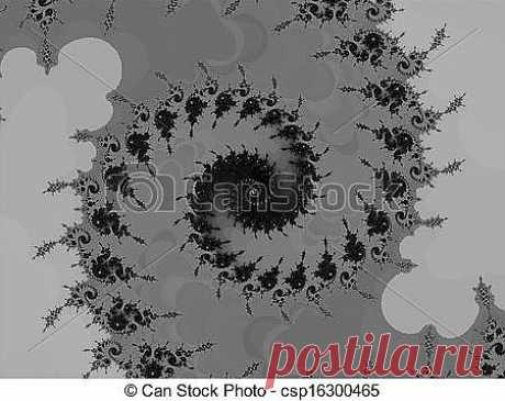 Stock Image of Graphic fractal spiral - Digital computer graphic -... csp16300465 - Search Stock Photography, Photos, Pictures, and Photo Clip Art