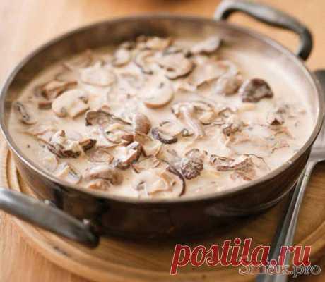 Грибной суп кулинарный рецепт с фото