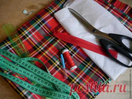 We sew a skirt sun from Scotswoman fabric in an evening History such: sorted fabric stocks and came across bright Scotswoman fabric. Structure: the wool mixture, fabric thin, soft, plastic, is well draped. Width is 150 cm and big metric area. There was a wish ssh …