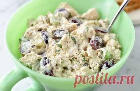 Салат с шампиньонами - замена мясной закуске