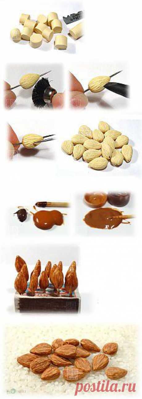 орехи из пластики | Женские блоги