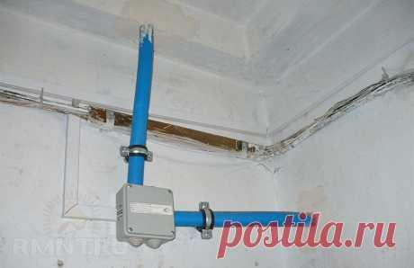 Как защитить электропроводку в стенах RMNT.RU