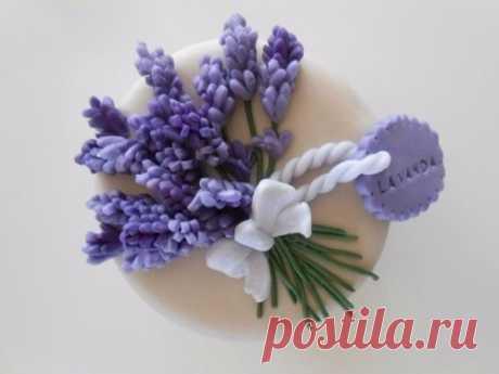 We mold a lavender