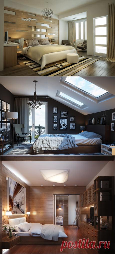 Современный дизайн спальни - 35 фото идей красиво оформленного интерьера в спальне