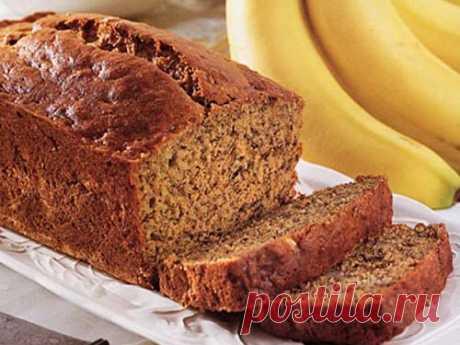 Бесподобный банановый хлеб - нежнейшая выпечка из старых бананов