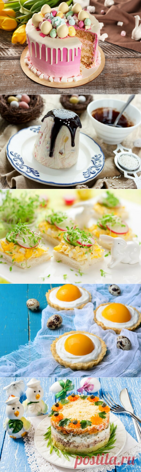 Dishes for Easter