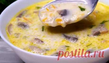 Грибной суп с кабачками: настоящая находка для любой хозяйки