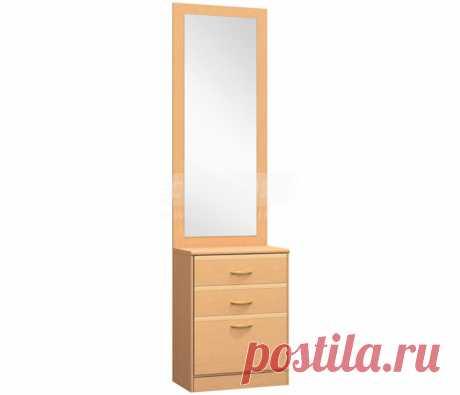 Симба С-49 Тумба с зеркалом купить со скидкой 20% в интернет магазине с доставкой и сборкой | Столплит: мебельный интернет-магазин