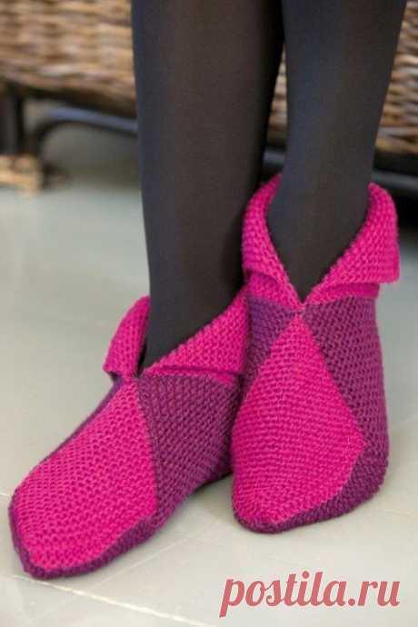 Следки женщинам - Пинетки, носки, вязаная обувь - Каталог файлов - Вязание для детей