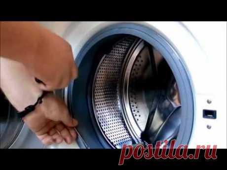Замена манжеты люка стиральной машинки самсунг.